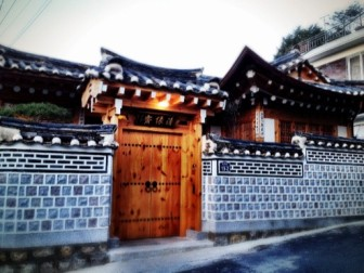Luxury hanok home stay